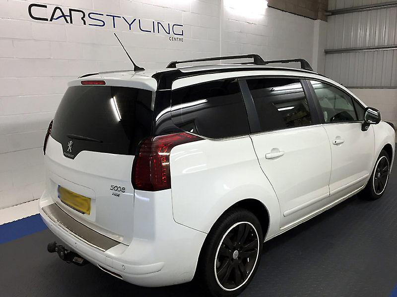 Pre cut window tint - Ford Focus C-Max 5-door - 2003 to 2010 - Rear windows