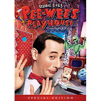 Pee-Wee's Playhouse: Seasons 3 4 & 5 [DVD] USA import