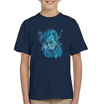 Doctor Who Matt Smith Dreaming Of Gallifrey Kid's T-Shirt