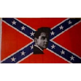 Rebel Elvis Flagge 5 ft x 3 ft
