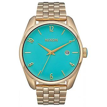 Nixon The Bullet Watch - Gold/Turquoise