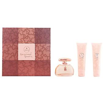 Tous Sensual Touch Pack 3 Pieces (Woman , Perfume , Gift Wraps)