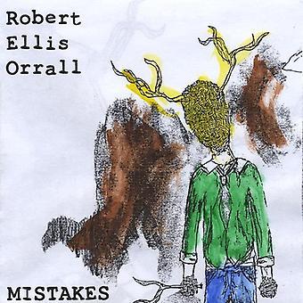 Robert Ellis Orrall - Mistakes/Gravity [CD] USA import