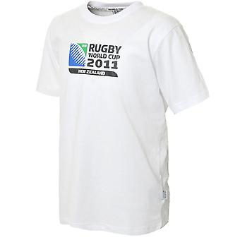 CCC Rugby World Cup 2011 Logo T-Shirt Junior [hvid]