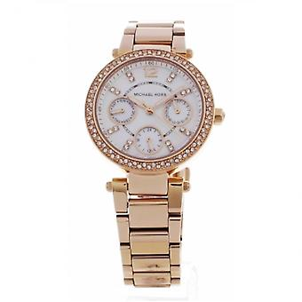 Michael Kors Watches Mk5616 Michael Kors Rose Gold & Mother Pearl Dial Ladies Watch