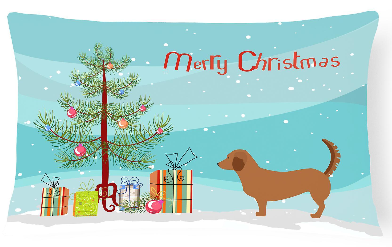 Dachsbrake Fabric Christmas Canvas Decorative Alpine Pillow 0wOvmNn8Py