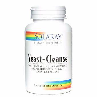 Solaray, Yeast-cleanse, 90 capsules