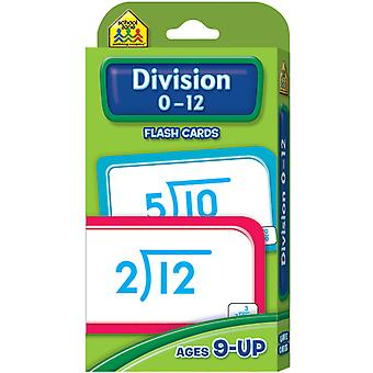 Flash Cards Division 0 12 52 Pkg Szflc 4017