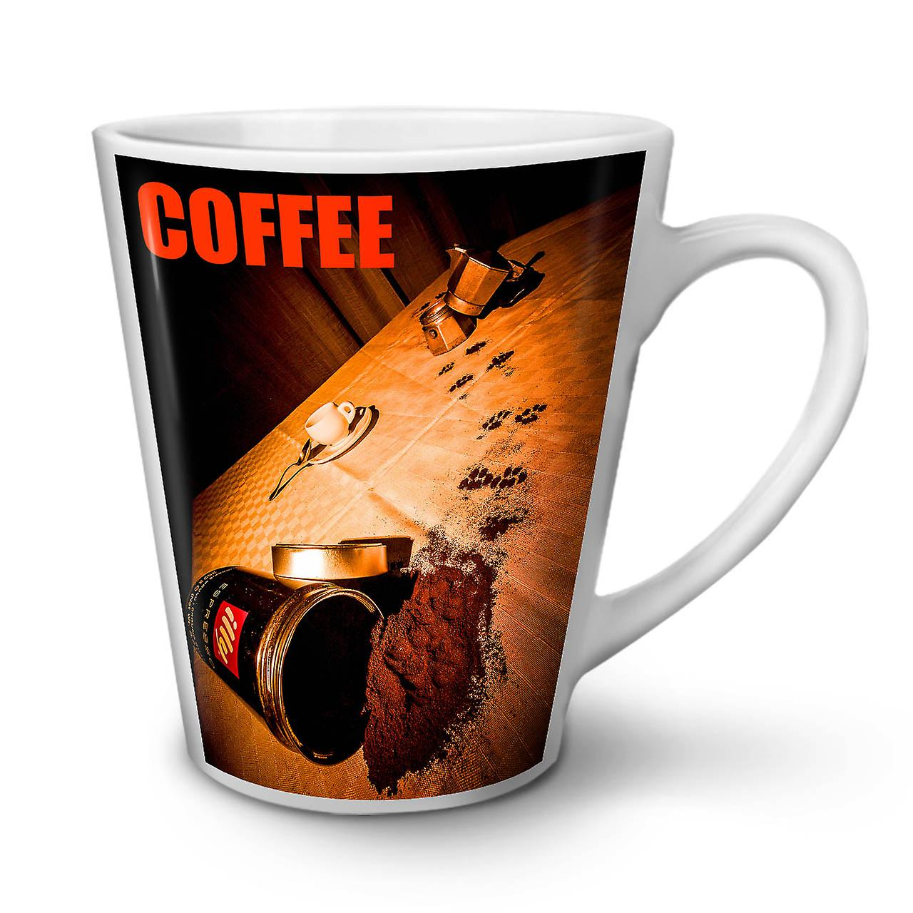 Tea Coffee Latte Mug New Hippie 12 White Berry OzWellcoda Ceramic rdCeBxWo