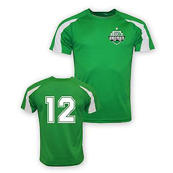12 Werder Brême Sports Training Jersey (vert)