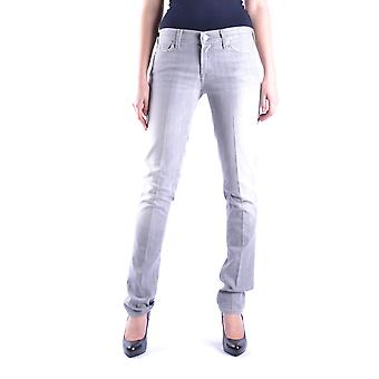 7 for all mankind ladies MCBI004029O grey cotton of jeans