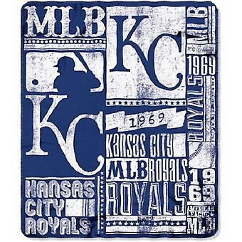 Kansas City Royals MLB Fleece nordvest Throw