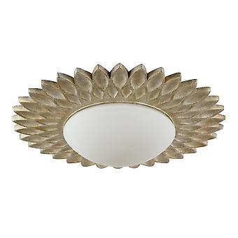 Maytoni Lighting Lamar House Collection Ceiling Lamp, Cream Gold