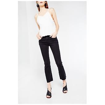 Articles Of Society Cropped Flare Jeans