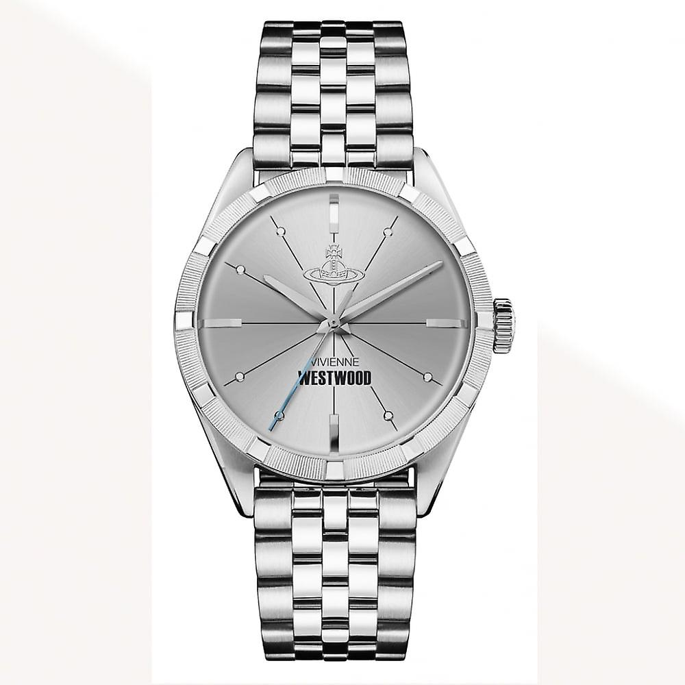 Vivienne Westwood Vv192slsl Conduit Stainless Steel Silver Watch