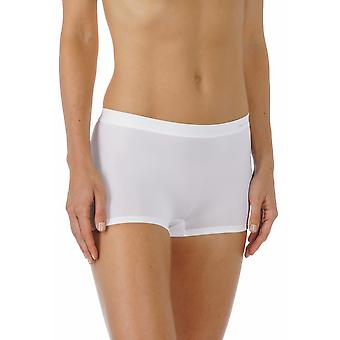Mey 59218-1 Women's Emotion White Solid Colour Knicker Shorties Boyshort