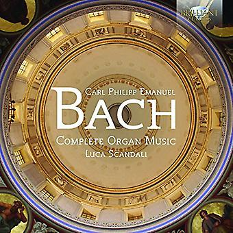J.S. Bach - Comp organmusik [CD] USA import