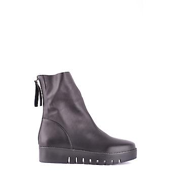Jeffrey Campbell women's MCBI163028O black leather ankle boots