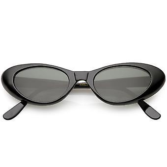 Echte Vintage Cat Eye Sonnenbrille Neutral farbige Linse 48mm