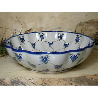 Dish, with a wavy margin, Ø 27.5 cm, height 7.5 cm, tradition 8, BSN 7925