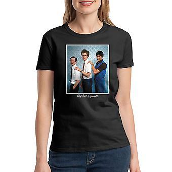 Napoleon Dynamite Family Photo Women's Black Funny T-shirt