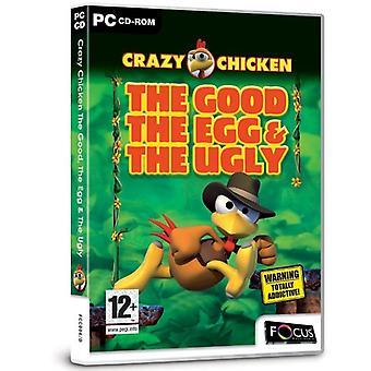 Fou de poulet bien l'oeuf et le truand (PC CD)