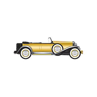 Gegliederte große 20er Jahre Roadster