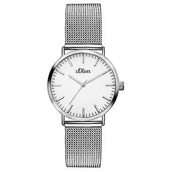 s.Oliver Женские Часы наручные часы из нержавеющей стали так-3270-MQ