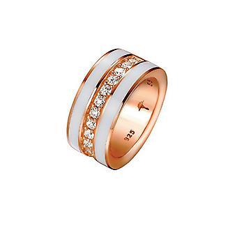 Joop women's ring silver Rosé cubic zirconia JESSICA JPRG90652C