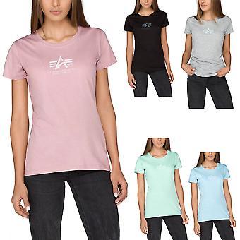 Alpha industries ladies T-Shirt grundläggande T Wmn