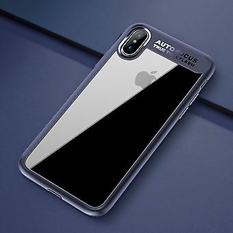 Original ROCK bumper case for Apple iPhone X 10 pouch cover case Blue new