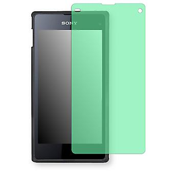 Sony Xperia Z1 compact display protector - Golebo view protective film protective film