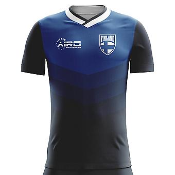 2018-2019 Finland Away Concept Football Shirt (Kids)