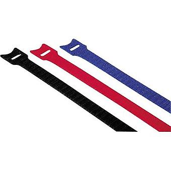 Hama Hook-and-loop cable tie Plastic Red, Blue, Black Flexible