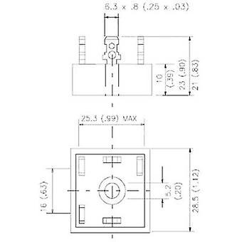 Vishay 36MT160PBF Diode bridge D 63 1600 V 35 A 3-phase