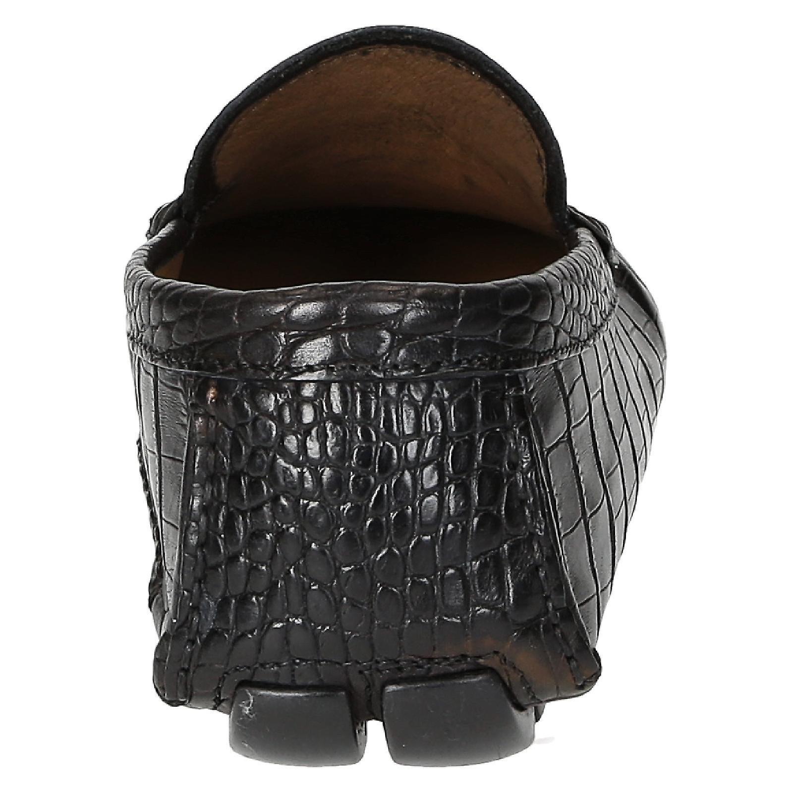la la la trama di uomini coccodrillo mocassini neri | Nuovo mercato  | Alla Moda  | Gentiluomo/Signora Scarpa  8a4ed2
