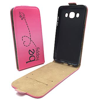 Telefono cellulare custodia per cellulare Samsung Galaxy J5 2016 essere felice rosa