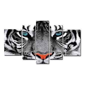 Tigre, lona de pintura, 180 x 100 cm
