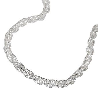 Double anchor chain 3 mm Silver 925 42 cm