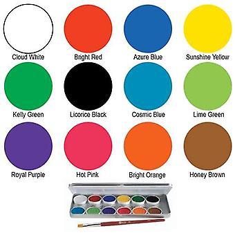 Ben Nye Twelve Color MagiCake Palette