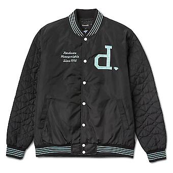 Diamond Supply Co Un Polo Varsity Jacket Black