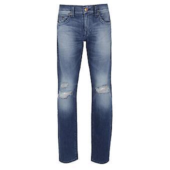 True Religion Geno No Flap FATM Worn Suspect Jeans