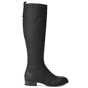 Nine West Womens Nicolah Leather Closed Toe Knee High Fashion Boots