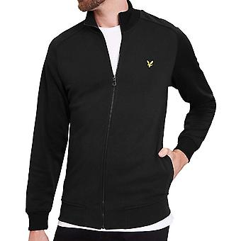 Lyle and Scott Tricot MJersey Mix Funnel Neck Top  True