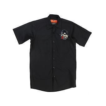 Lucky 13 men's short-sleeved shirt Noclub Lone Wolf