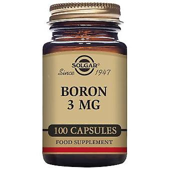 Solgar Multiquelado Boron 100 Capsules (Vitamins & supplements , Minerals)