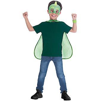 PJ Masks Gekko Cape Set - Child Costume