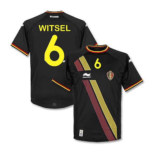 2014-15 Belgien WM Away Shirt (Witsel 6)