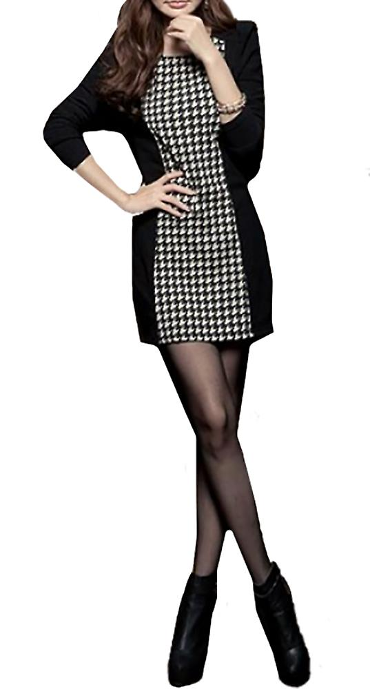 Waooh - Houndstooth Dress Leva