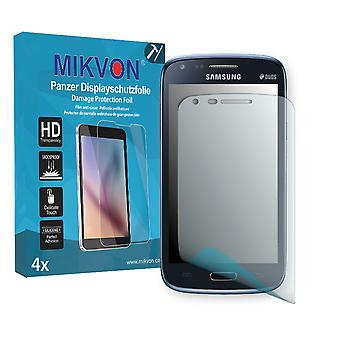 Samsung I8262 Galaxy Core Duos Screen Protector - Mikvon Armor Screen Protector (Retail Package with accessories)